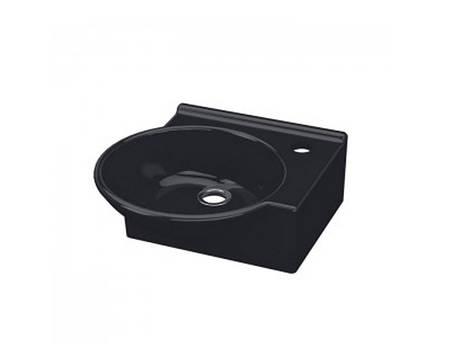 Myra Mini Умывальник 36 см черный, правый 0201-0365-07 IDEVIT, фото 2