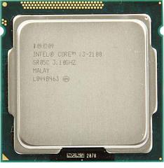 Процессор Intel Core i3-2100 3.1GHz/3MB s1155 tray