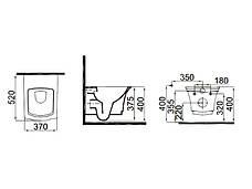 Neo Classic Чаша подвесного унитаза с функцией биде 3304-0615 IDEVIT, фото 3