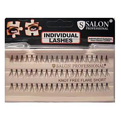 Пучковые ресницы для наращивания 3 в 1 Salon (маленькие, средние, длинные)