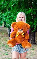 Плюшевый Мишка 70см. Все Цвета Мишка Томми игрушка Плюшевый медведь Мягкие мишки игрушки Ведмедик (Коричневый)