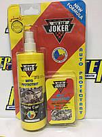 Полироль для панели Joker Рrotektant - с губкой, 300 ml. New Car