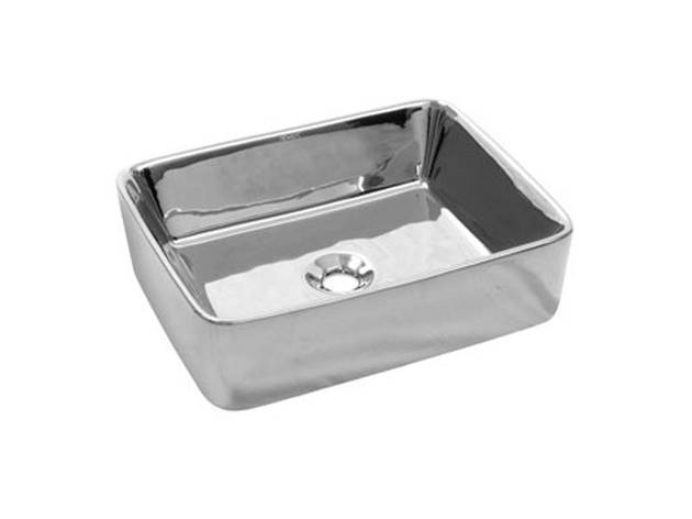Silver countertop Умывальник 5011CR NEWARC, фото 2