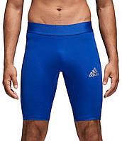 Темобелье мужское велотреки Аdidas Baselayer AlphaSkin Short синие