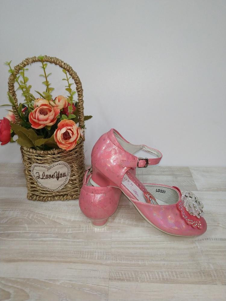 Туфли на  девочку 25,30,31,32 р розовые арт 320 GFB.