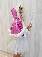 Карнавальный костюм для девочки Снежинки, фото 1