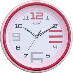 Годинник настінний Rikon 1451 F Pink