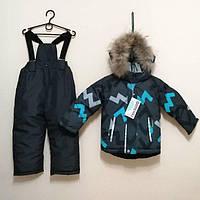 Зимний термо костюм комбинезон аналог Reima lenne на мальчика девочку