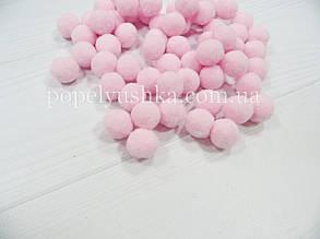 Помпони 2 см світло-рожеві Vip ( 25 шт )