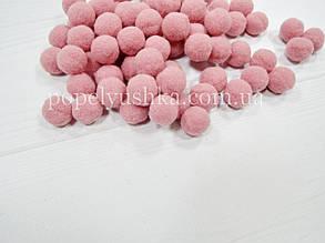 Помпони 2 см рожева-пудра Vip ( 25 шт )