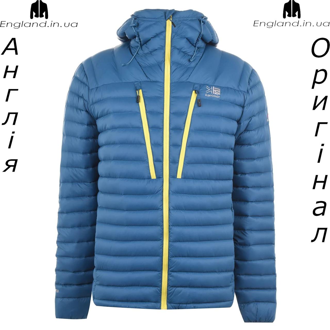 Куртка пуховик чоловічий Karrimor з Англії - зимова на гусячому пуху