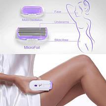 Депилятор женский для ног и бикини женский Эпилятор женский для удаления волос на теле Touch Finishing, фото 3