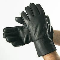 Мужские зимние перчатки из натуральной кожи (арт. 19M1-2) L
