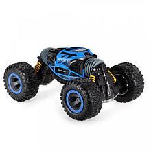 Трюковая машинка перевертыш Джип Rock Crawler UD2170A 1:12 (Синий)