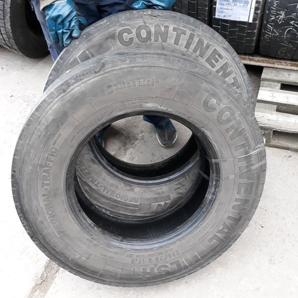 Шины б.у. 235.75.r17.5 Continental LSR1 Континенталь. Резина бу для грузовиков и автобусов