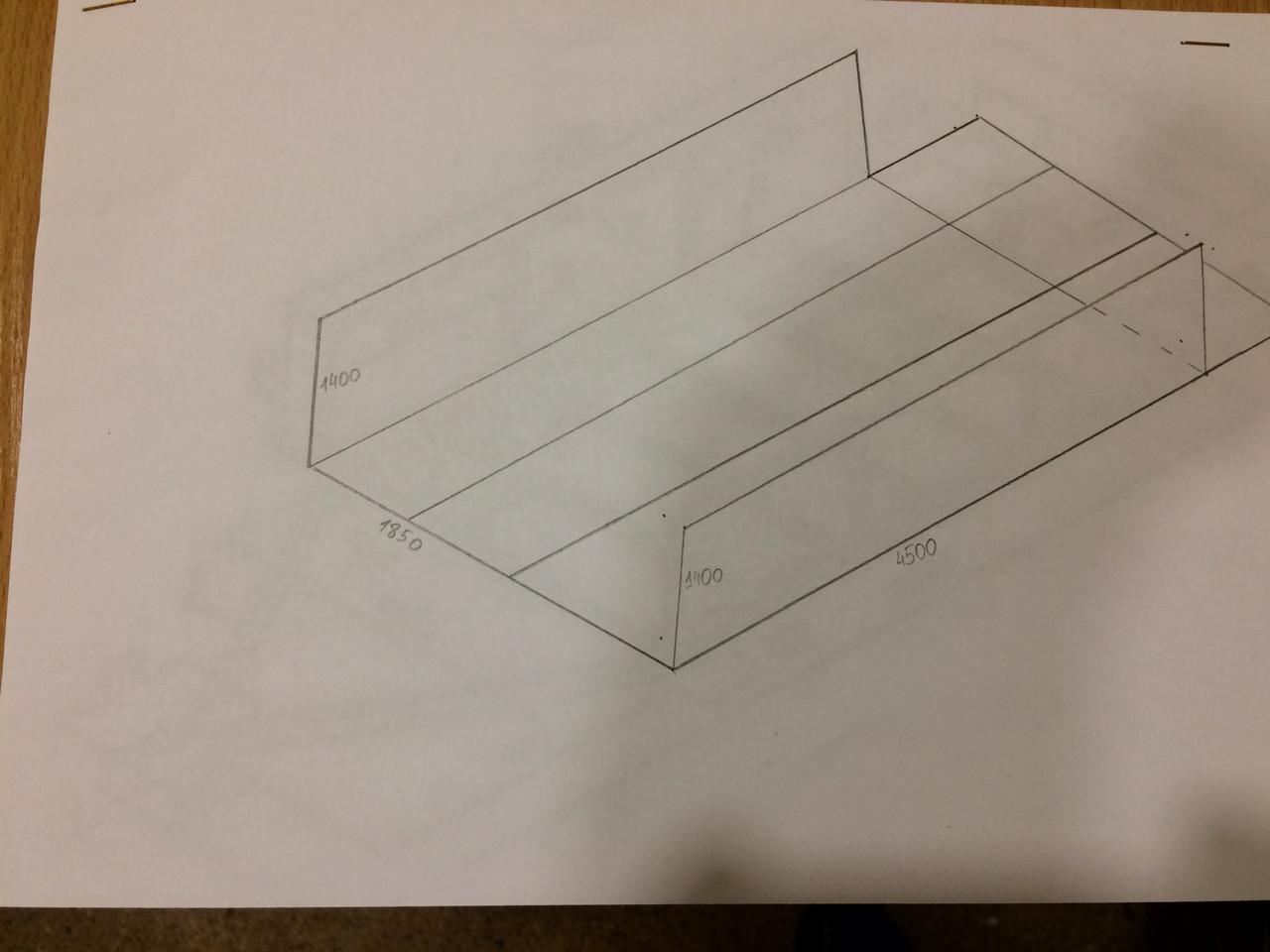 Конструкция для увеличения длины прицепа Б/У