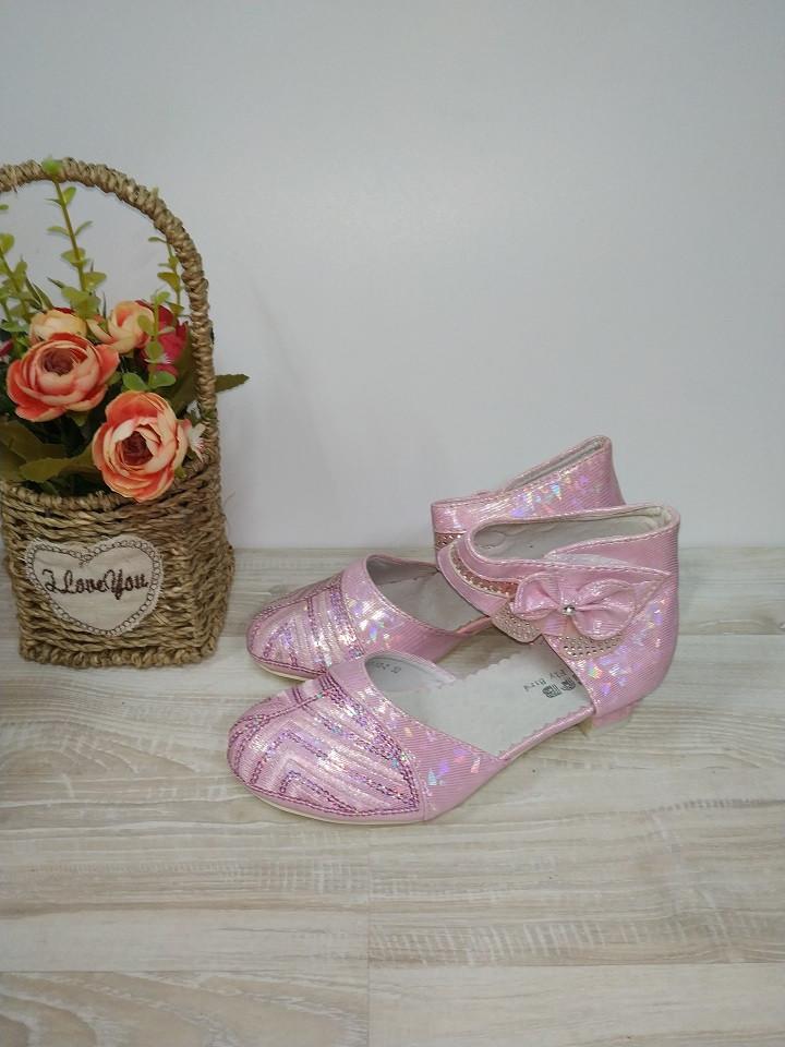 Туфли на  девочку розовые 32 р арт 0721  GFB.