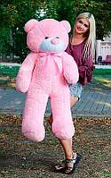 Плюшевый Мишка 140см Большой Мишка Ромео игрушка Плюшевый медведь Мягкие мишки игрушки Ведмедик (Розовый)