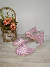 Туфлі на дівчинку рожеві 32 р арт 0721 GFB. 32