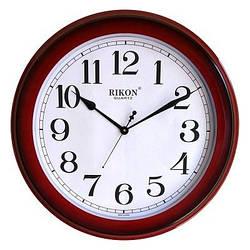 Годинник настінний Rikon RK10 BIG Red (500*500)