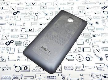 Задняя крышка Meizu Mx4 серая Сервисный оригинал с разборки
