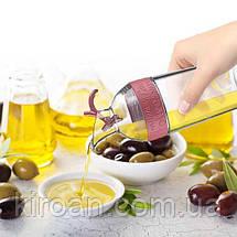 Бутылка для масла с дозатором, Турция Titiz, 96x96x292 mm (750 мл), фото 3