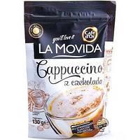 Капучіно La Movida 130г.  з шоколадом