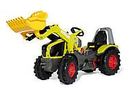 Детский педальный трактор X-Track Claas Rolly Toys 651122. Машинка для детей, фото 1