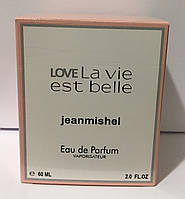 Тестер в подарочной упаковке jeanmishel loveLa vie est belle 60 мл
