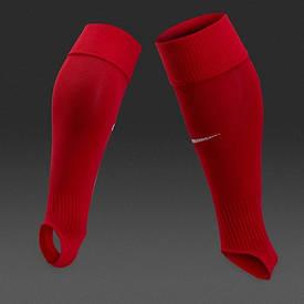 Гетры без носка обрезки Nike Stirrup III красные SX5731-657 (ориинал)