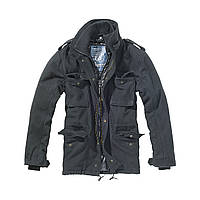 Куртка Brandit M65 Voyager Wool Jacket Black M Черный 3147.2-M, КОД: 715011