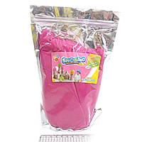 """Песок кинетический """"Розовый"""" 1кг, основа-нановолокно"""