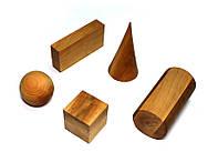 Набор моделей геометрических тел и фигур, фото 1