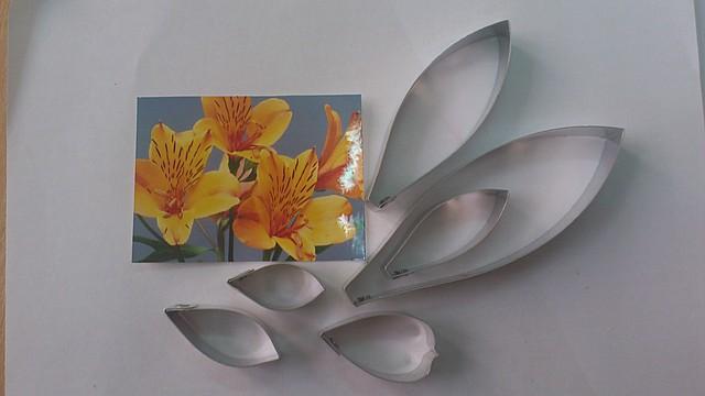 Катер цветок альстромерия Китай - 01426