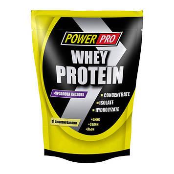 Протеин сывороточный Whey Protein +урсоловая кислота (1 kg) Power Pro