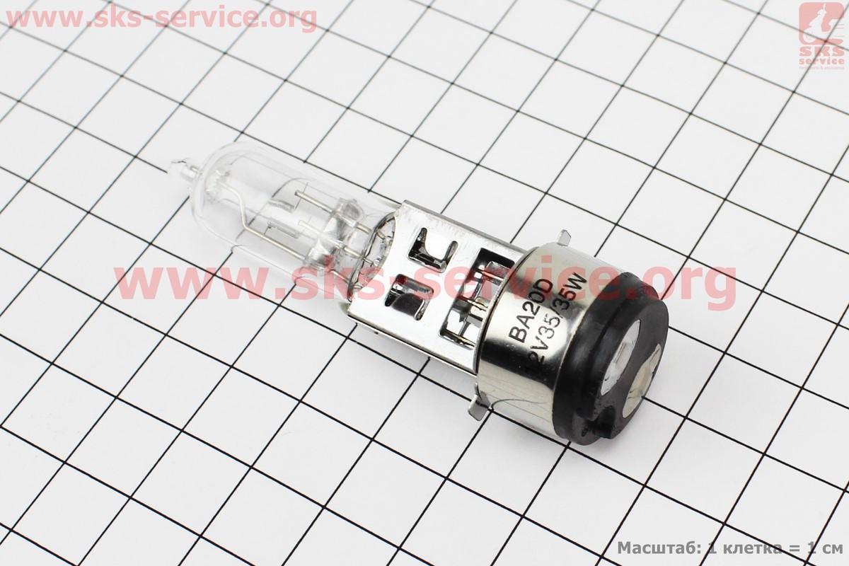 Лампа фары H6 BA20D 12V 35/35W