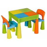 Яркие детские столики + 2 стула Tega baby Mamut. ХИТ продаж!