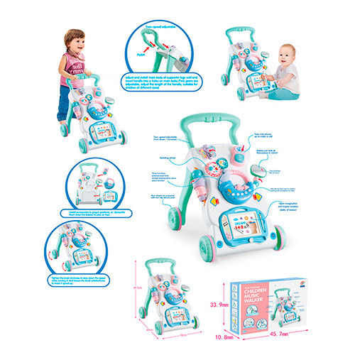Ігровий центр каталка-ходунки 696-R8 музична дитяча іграшка