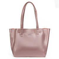 Женская сумка из натуральной кожи фиолетового цвета классика, фото 1