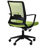 Офисное кресло AMF Argon-LB  сетка-ткань оливкового цвета, фото 7