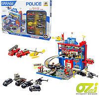 Детский трек-гараж A-Toys Полиция 566-14