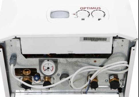 Газовый котел Hi-Therm OPTIMUS 18 кВт подводка воды