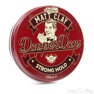 Глина для укладки волос Dapper Dan Matt Clay, фото 2