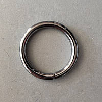Кольцо литое сварное 30 мм черный никель