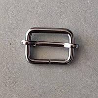 Регулятор перетяжка 21 мм черный никель