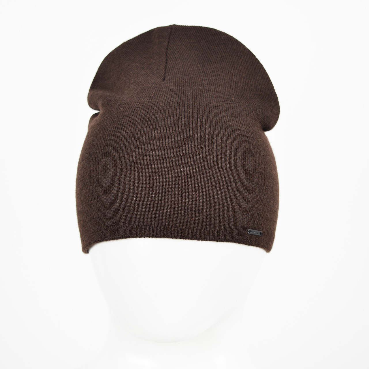 Мужская Шерстяная шапка Veer-Mar. SH465 коричневый