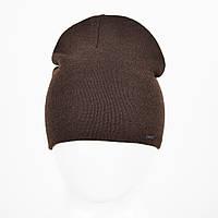Мужская Шерстяная шапка Veer-Mar. SH465 коричневый, фото 1