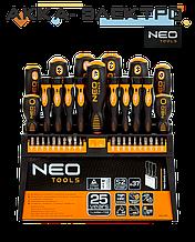 Набор отверток и насадок NEO Tools 37 шт (04-210)