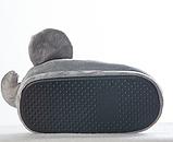 Тапочки Слоники, размер универсальный 27-29, стелька 18,5 см, фото 3