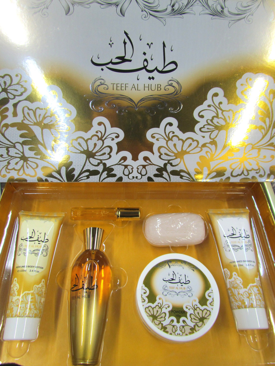 Парфюмерно - косметический сет  для женщинTeef Al Hub от Ard Al Zaafaran 100 мл +